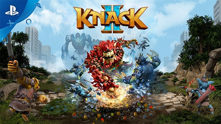 Оценки платформера Knack 2 для PS4: «Лучше первой части во всех отношениях»