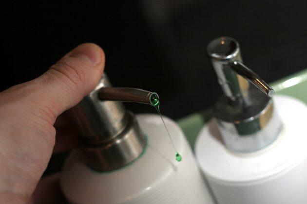 кухонные принадлежности: средство для мытья посуды