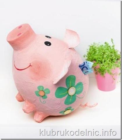 Копилка свинка своими руками