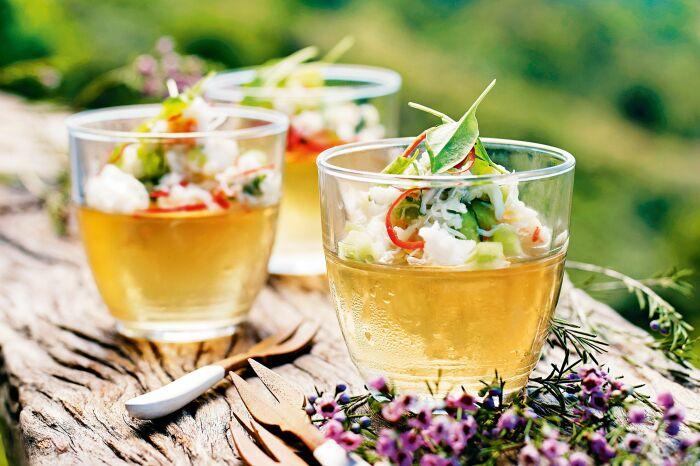 Томатное желе.  Фото: delicious.com.au.