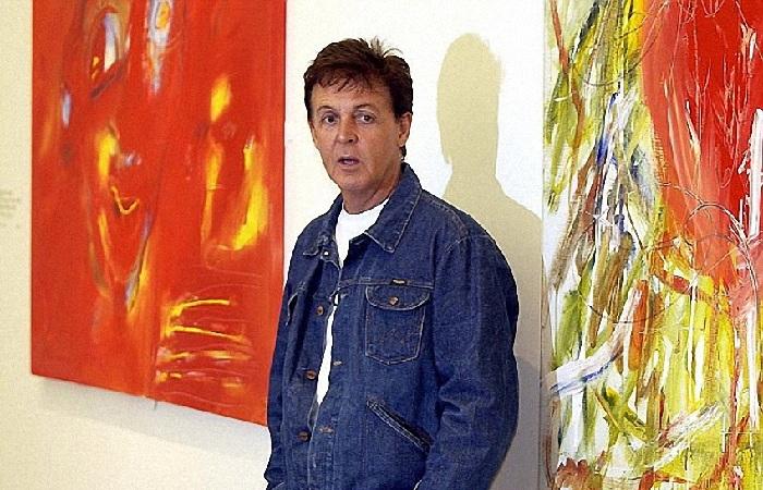 Как знаменитый «битл» Пол Маккартни стал художником, и кто главная героиня его полотен