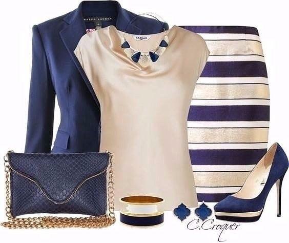 8 стильных образов для бизнес-леди