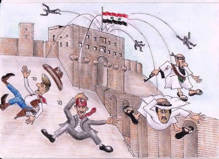 Западная дипломатия с грохотом и искрами несётся под откос...