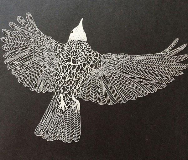 Невероятно изящные произведения искусства из простой бумаги (12 работ)