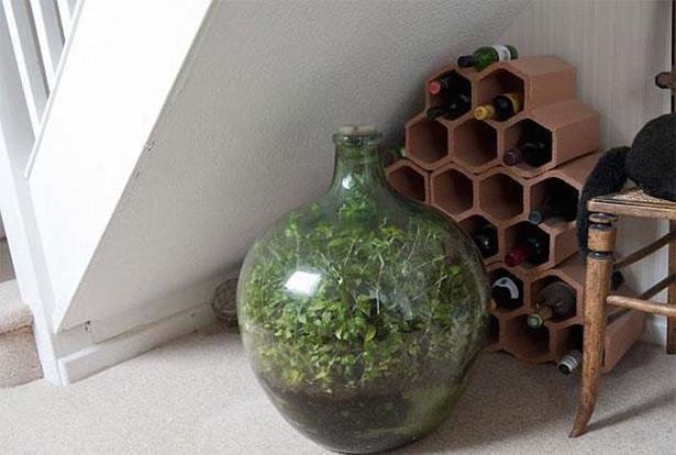 Чудо сад в бутылке