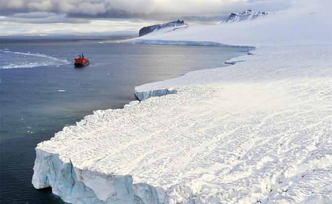 Немного американцев в холодной воде: США громоздятся на торосы