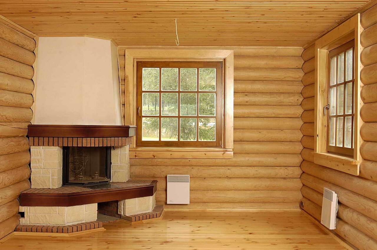 Внутренние стены в деревянном доме своими руками