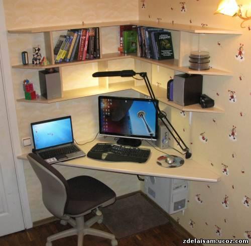 Компьютерные столы фото своими руками