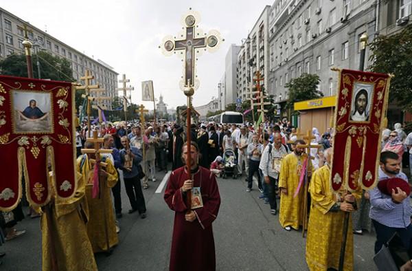 Всеукраинский крестный ход завершился