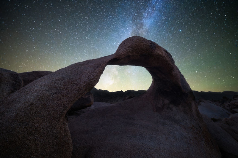 Арка Мебиуса, Калифорния  Северная Америка, путешествие, фотография