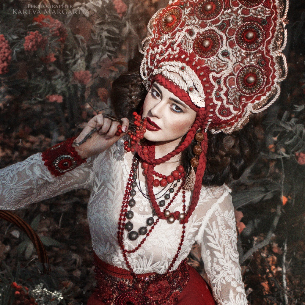 «Я превращаю русские сказки в жизнь» —  фотокартины в стиле фэнтези Маргариты Каревой
