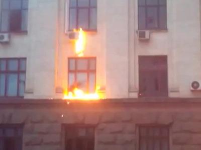 Поджигатели в Одессе использовали неизвестное ядовитое вещество
