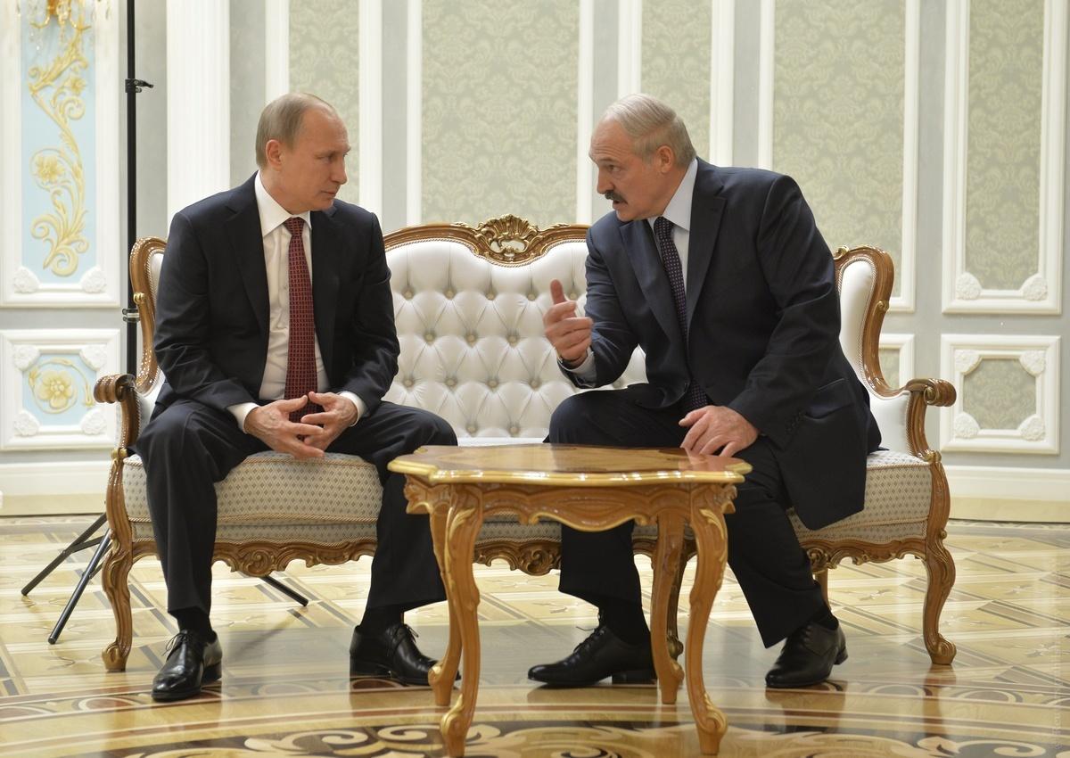Путин: споры между Россией и Белоруссией естественны