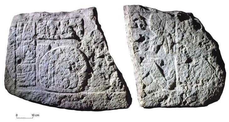 В городе майя нашли изображение древних «футболистов»