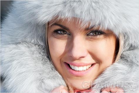 Как защитить лицо от мороза