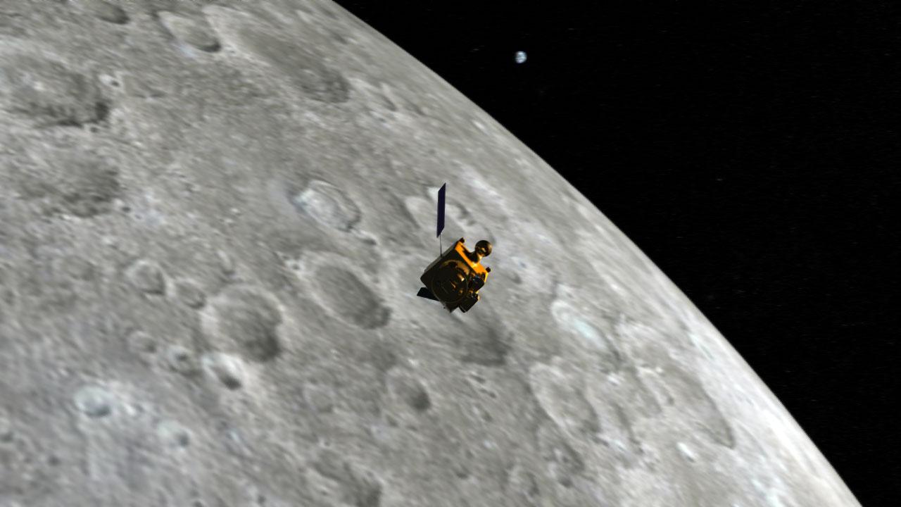 Как НАСА нашло потерянный 8 лет назад индийский спутник Луны
