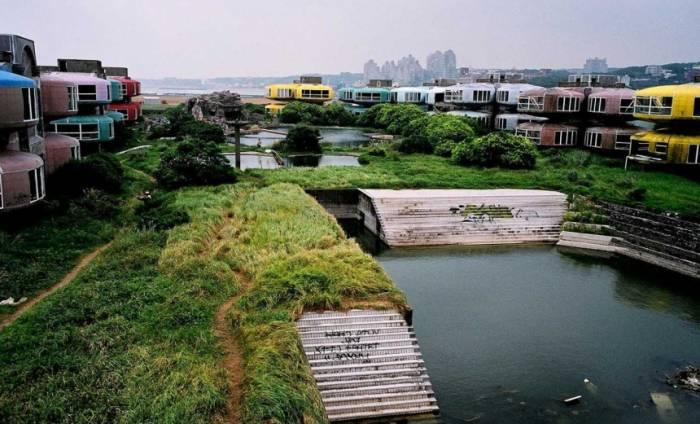Японский город-призрак Сан-Жи