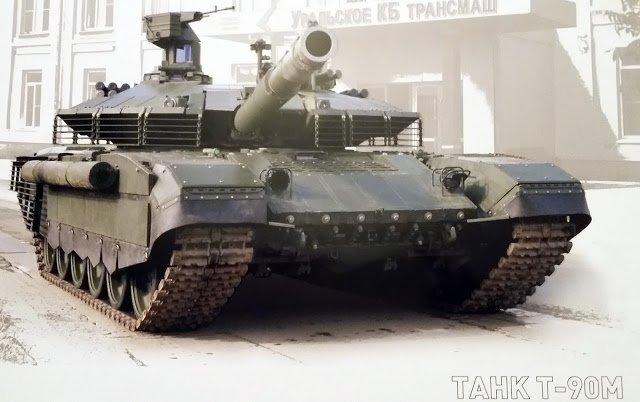 «Уралвагонзавод» опубликовал фото нового варианта Т-90 для российской армии