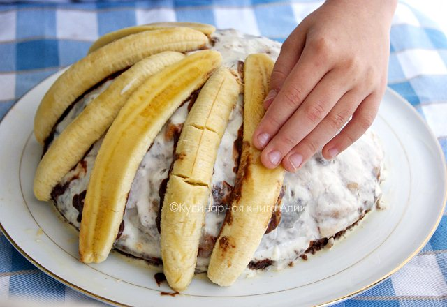 """Торт """"Панчо"""" супер-банановый"""