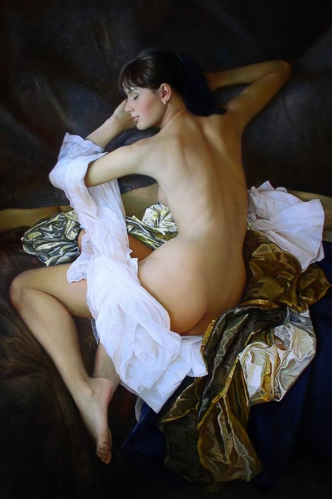 Удивительно реалистичные картины, воспевающие женскую красоту и очарование