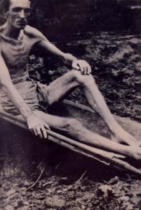 Британских пленных в Японии во время II мировой превращали в живые скелеты военнопленныe, вторая мировая война, жестокость, история, концлагеря, лагеря смерти, фото, япония