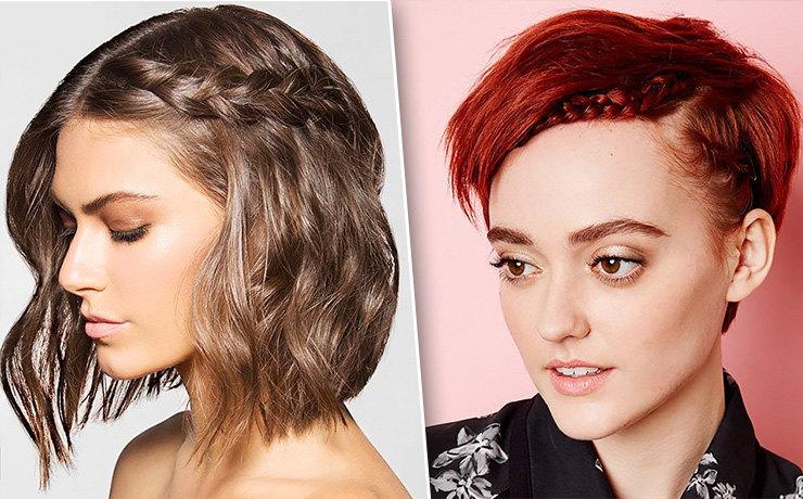 8 идеальных причесок для коротких волос