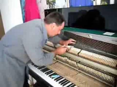 Ремонт молоточка пианино самостоятельно онлайн