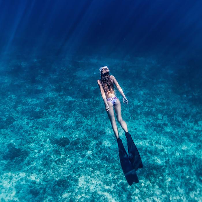 Невероятные цвета подводного мира.