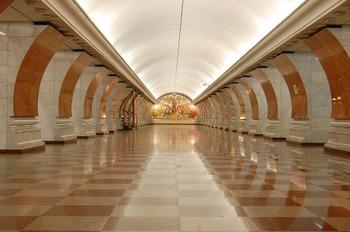 Женщина бросилась под поезд в московском метро