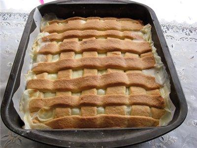 Яблочный пирог пышный - вкус божественный!