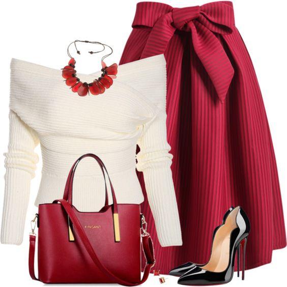 С чем можно носить платья и юбки — чень элегантные и женственные сеты