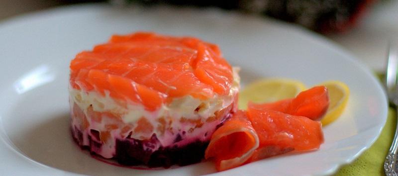 Диетический салат «Семга на шубе». Совершенство, само совершенство!