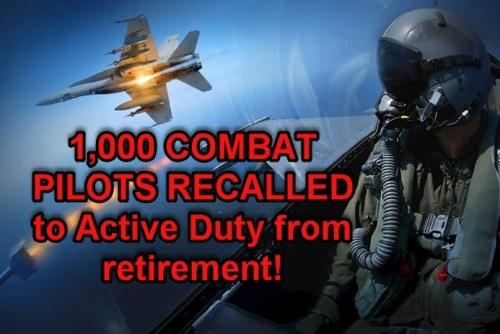 """""""Это будет не война, а очень большая война..."""" - Трамп указом призывает 1000 пилотов - отставников"""