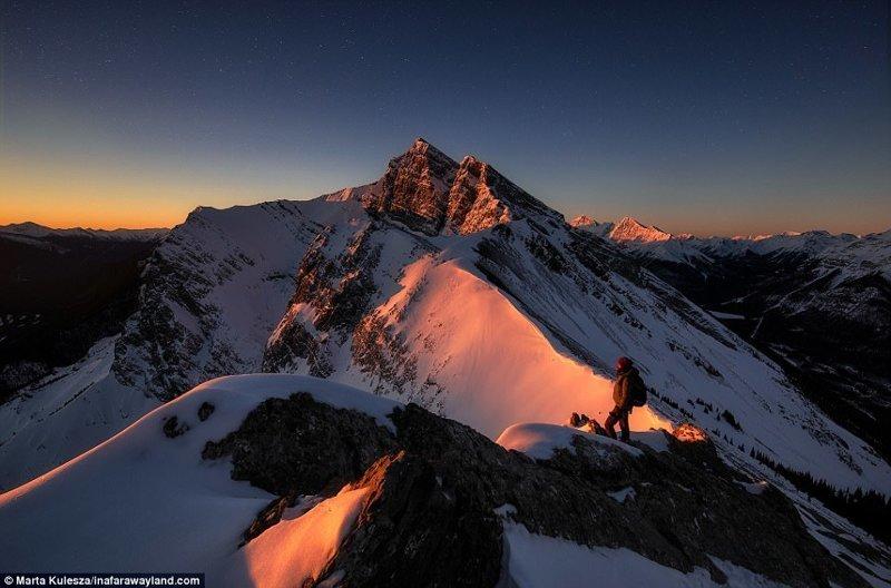 Горная вершина Ха Линг, Канада в мире, красивые фото, красивый вид, пейзажи, природа, путешествия, фото, фотографы
