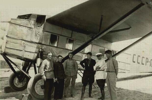 К-5 – основной пассажирский самолет 1930-х годов