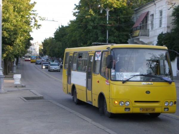 Злой автобус: в Севастополе …
