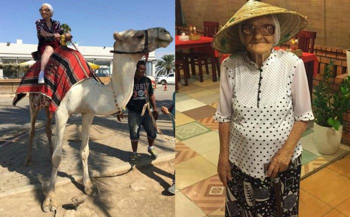 Бабушка-путешественница из Красноярска.