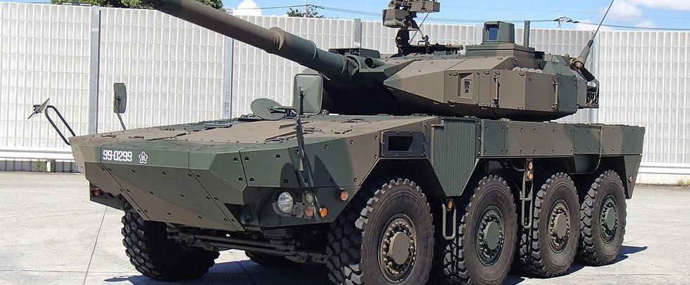«Автострадный танк» по-японски