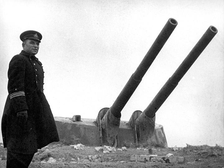 Подвиг и трагедия Севастополя: 35 береговая батарея