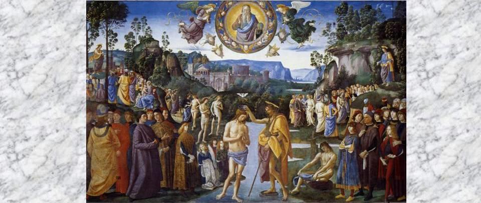 Крещение Господне в мировой живописи