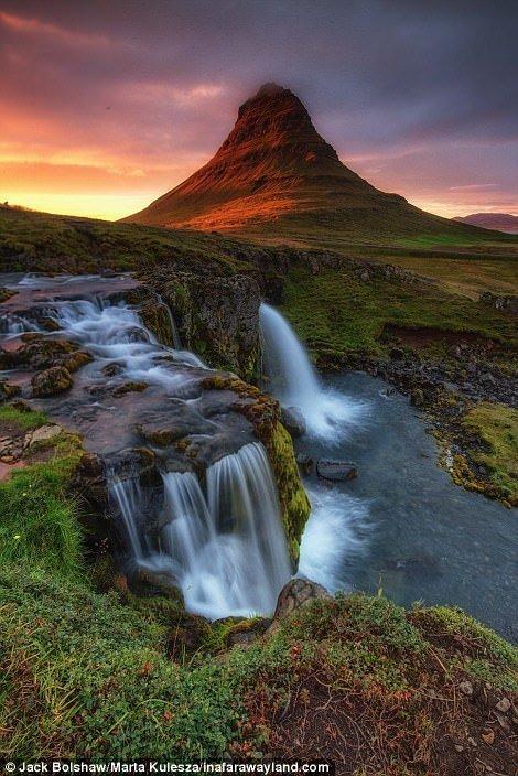 Гора Киркьюфетль в Исландии в мире, красивые фото, красивый вид, пейзажи, природа, путешествия, фото, фотографы