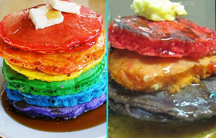 Ожидание и реальность: 10 провальных попыток приготовить десерт