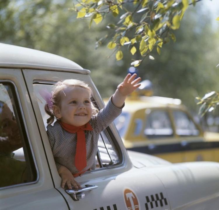 История и интересные факты о такси в СССР ссср, история, такси, авто