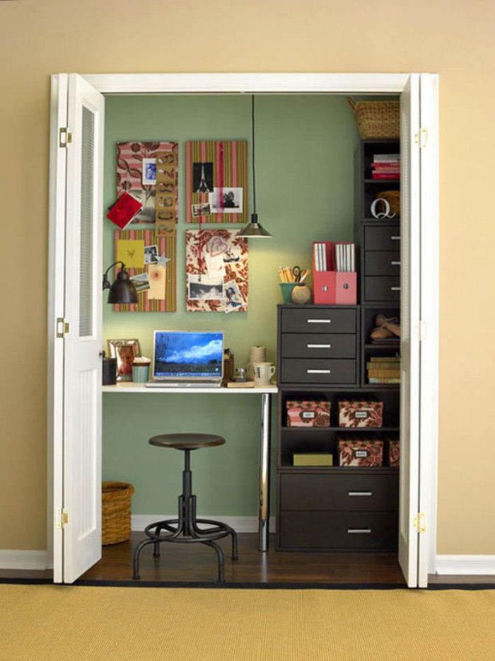 Рабочее место дома. идеи как спрятать его от глаз. обсуждени.