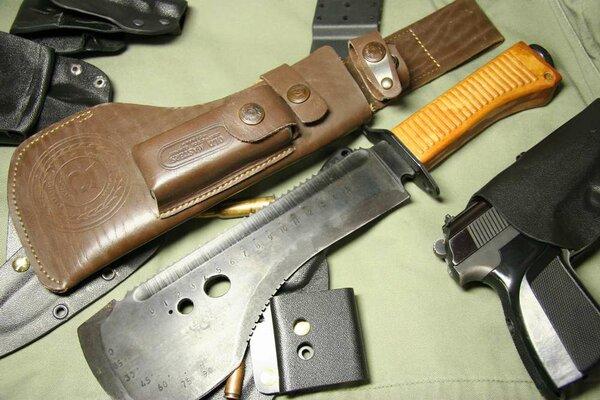Единственный нож - кошмар ножемана