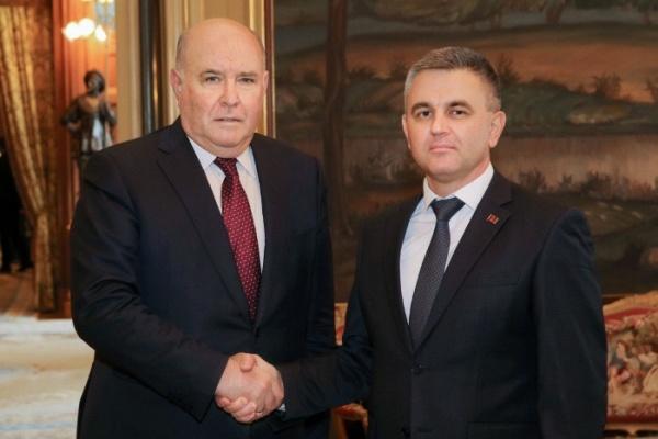 Президент Приднестровья обсудил вМоскве переговоры сМолдавией