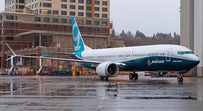 Boeing представил новую модель самолета 737 MAX 9