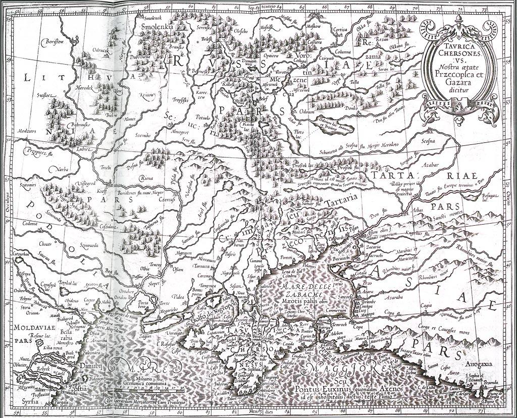 Карта 1630 года