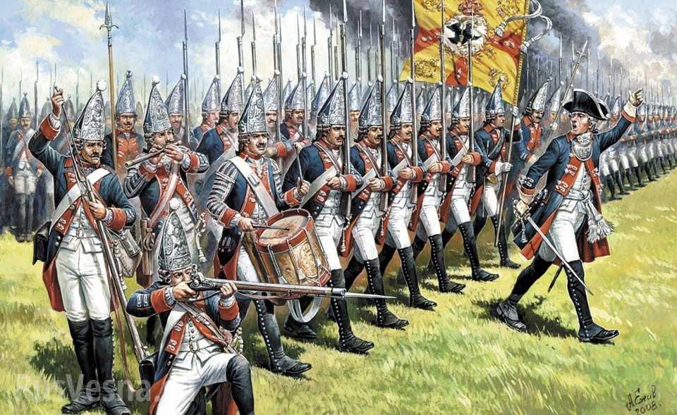 """Галантные войны или """"война в кружевах"""""""