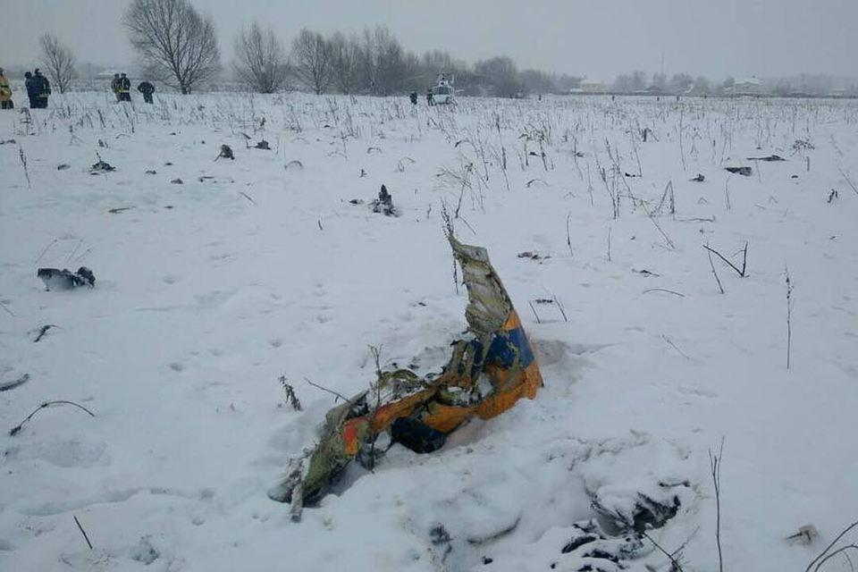 Родственники жертв катастрофы с Ан-148 получат по 100 тыс. руб. незамедлительной помощи